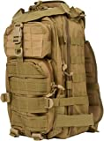 ACU Military Backpack - High Quality and Great Design By Modern Warrior (Tan)