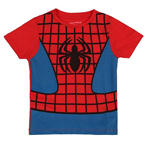 Mary Jane Costumes Spiderman (I Am Spiderman Childrens Costume T-Shirt (Juvenile 4))