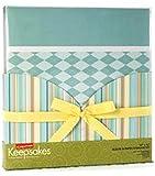 Creating Keepsakes 12'' x 12'' *Meditation Blue* Album & Paper Storage Set