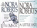 download ebook nora roberts, a little magic & a little fate (a little magic includes 3 stories: spellbound; ever after; in dreams / a little fate includes: the witching hour; winter rose; a world apart (2 books, 6 stories) pdf epub