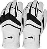 Nike Men's Dura Feel Golf Glove (2-Pack) (White)