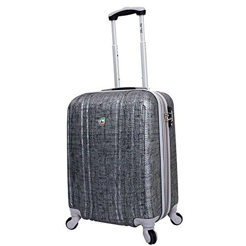 mia-toro-macchiolina-abrasa-hardside-spinner-carry-on-grey-one-size