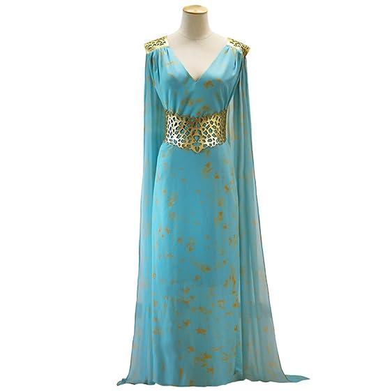 Amazon.com: Game Of Thrones Daenerys Targaryen Qarth Dress Party ...