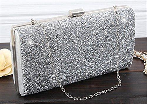 TOMATO-smile - Bolso mochila  de poliuretano para mujer plateado 755-bunte 01-Silber