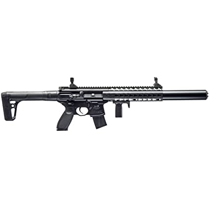 Sig Sauer MCX  177 Cal Co2 Powered (30 Rounds) Air Rifle, Black