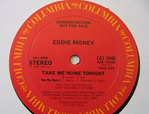 Take Me Home Tonight/Be My Baby [12-inch vinyl single] (Take Me Home Tonight Be My Baby)