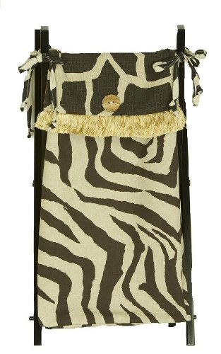 Cotton Tale Designs Sumba Hamper (Zebra Print Laundry Basket)