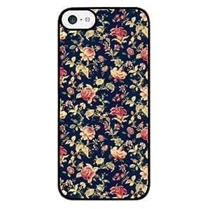 Season.C Vintage Floral Hard Back Case Cover for iPhone 5C