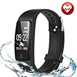 FITMAKER Fitness Tracker, Activity Tracker Watch Heart Rate Monitor, Waterproof Smart Bracelet Step