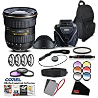 Tokina 12-28 F/4.0 PRO DX (for Canon) International Model (No Warranty) Lens Accessory Kit