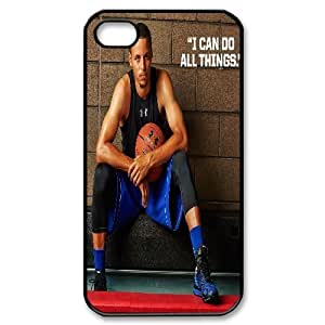 Tyquin Stephen Curry Handsome IPhone 4/4s Case, Case for Iphone 4 for Boys {Black}