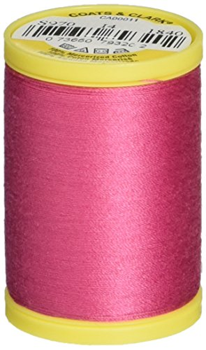 Coats Thread & Zippers S970-1840 General Purpose Cotton Thread, 225-Yard, Hot -