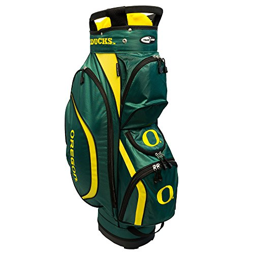 Team Golf NCAA Clubhouse Cart Bag, (Team Golf Umbrella Oregon Ducks)