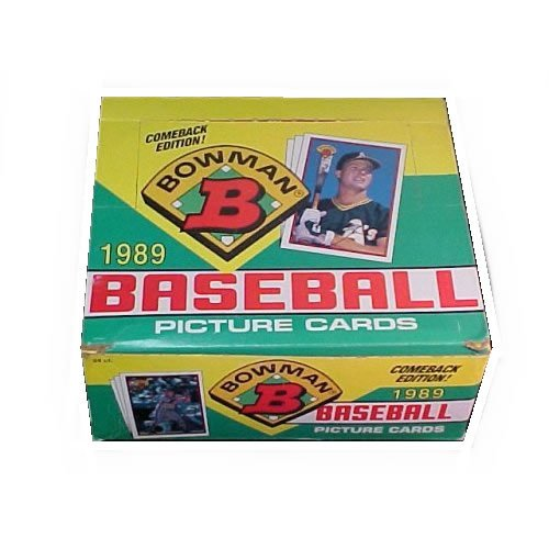 1989 Bowman Baseball Card Hobby Box