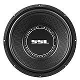 Sonido Storm Laboratorios SS Serie de una Sola Bobina de Voz de 4Ohm Subwoofer, 25 cm