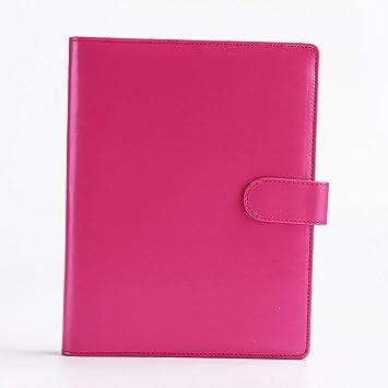 YWHY Cuaderno Oficina Escuela Cuaderno De Cuero 6 Hoyos ...