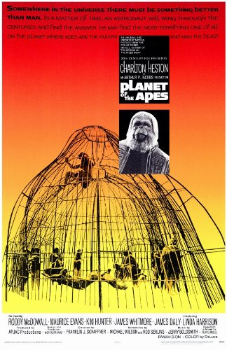 Planet of the Apes Poster Movie 11x17 Charlton Heston Roddy McDowall Kim Hunter Maurice Evans ()
