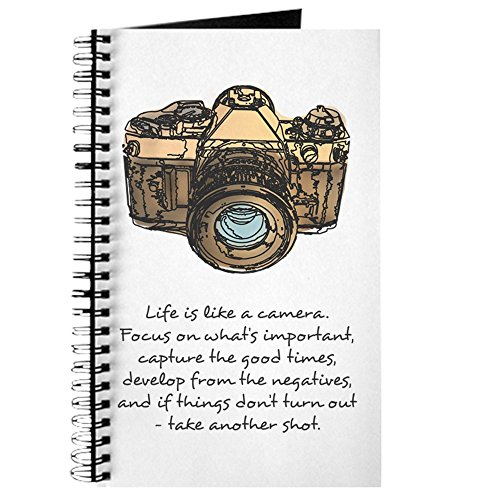 CafePress camera quote colour Journal Notebook Personal