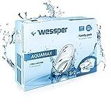 Wessper AQUAMAX Water Filter Cartridges - Fits BRITA Maxtra Jugs, PearlCo Unimax, Dafi Unimax - Pack of 10