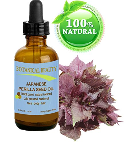 PERILLA SEED OIL JAPANESE 100% Pure /100% Natural / Refined
