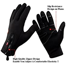 Simpleyourstyle Outdoor Sports Gloves Tactical Mittens,men Women Winter Keep Warm Bicycle Cycling Hiking Gloves Full Finger,military Motorcycle Skiing Gloves