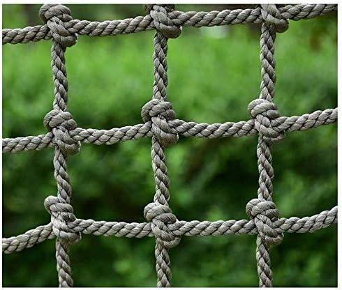 チャイルドセーフティネット、子供用カーゴナイロンロープラダークライミングネットチャイルドアンチフォールセーフティネットガーデンフェンス装飾メッシュバルコニー手すり階段保護ネット