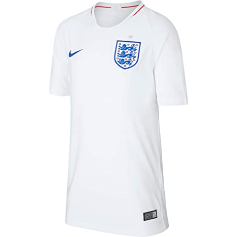 08b7ca4f0 Image Unavailable. Image not available for. Color: Nike 2018-2019 England  Home Football Soccer T-Shirt Jersey ...
