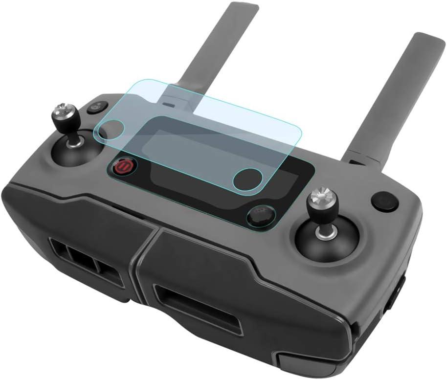 LIPOVOLT 2 Pcs//Set Remote Controller Screen Protector Film Skin for DJI Mavic 2 PRO//Zoom