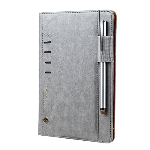Price comparison product image iPad Leather Case,Businda Luxurious Bookstyle Slim Folio Flip Stand Cover with Hand Strap,Card Slot for iPad Pro 9.7/iPad Air/iPad Air 2/2017 New iPad/iPad 9.7 2018