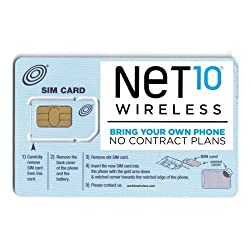 Image of the product Net10 SIM Card for Iphone that is listed on the catalogue brand of .