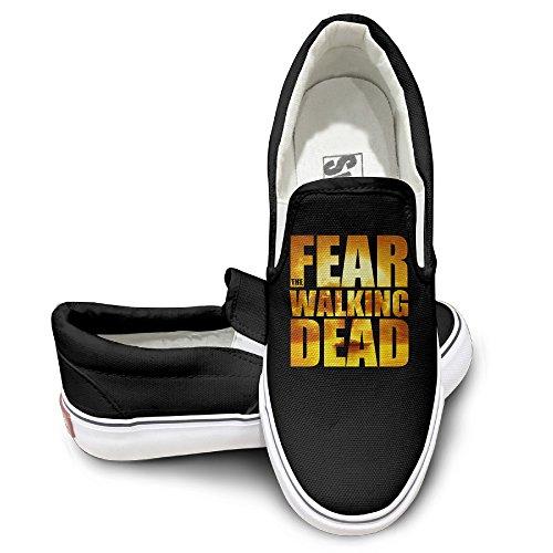 ewied-unisex-classic-american-horror-drama-tv-series-slip-on-shoes-black-size37