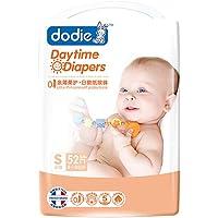 杜迪(Dodie) 超薄透气纸尿裤日用S码 52片 (4-8公斤)