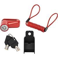Cerradura De Freno De Disco Profesional, Rueda Antirrobo Frenos De Disco con Cable para Xiaomi Mijia M365 Scooter…