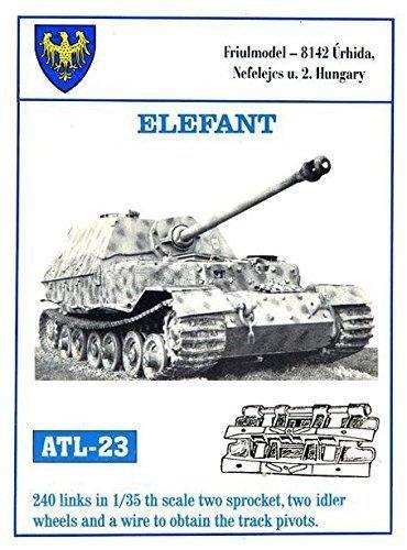 Friulmodel ATL23 1/35 Metal Track Link Set for Elephant & Ferdinand