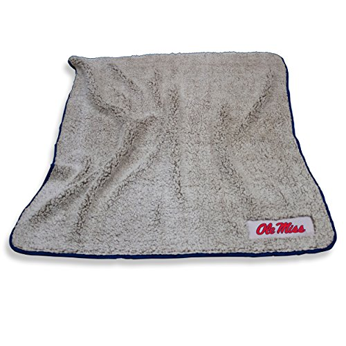 (Logo Brands Ole Miss Rebels Frosty Fleece Blanket)