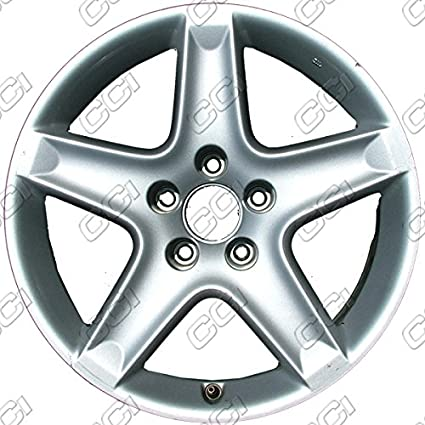 Amazoncom All Painted Silver Refurbished OEM Wheels For - Acura tl oem wheels