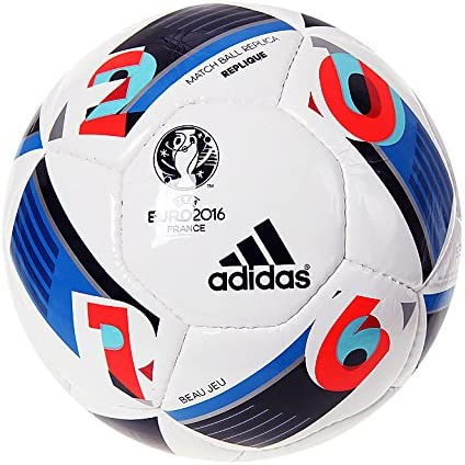 adidas Euro 2016 Replique Pelota fútbol AC5430 Tamaño 5: Amazon.es ...