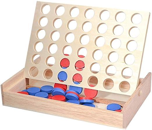 Juego Conecta 4 Juego Cuatro En Raya Niños Y Chicas Juego De Habilidad Conecta 4 Juego De Mesa para 2 Jugadores: Amazon.es: Hogar