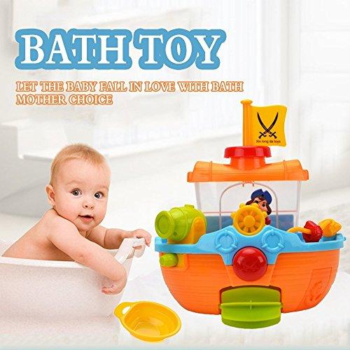 Pirate Ship Bathtub Bath Toy