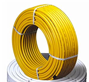 """Gas Flex 1/2"""" Tubing Pipe KIT 66ft with 2 Fittings gasflex"""