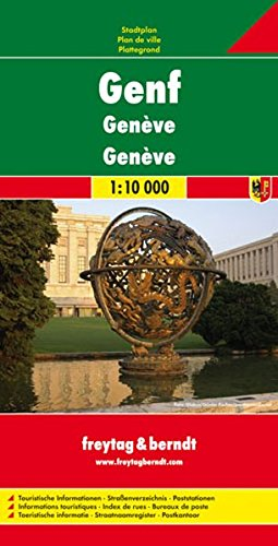 Geneve City Map 1:10K FB (English and French Edition)