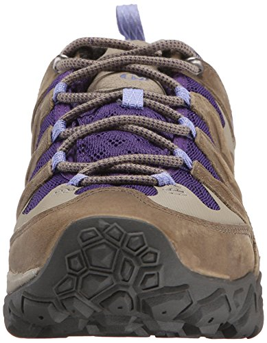 Merrell Chameleon Shift Ventilator Gore-Tex®, Womens Trekking and Hiking Shoes Grün (Stucco/Purple)
