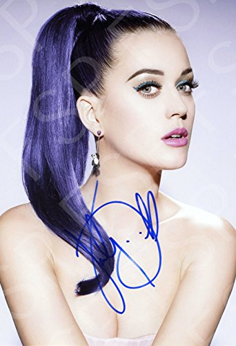 Katy Perry Autograph Replica Poster Print
