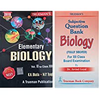 Trueman's Elementary Biology for Class 12 (2019 Edition)+ with free educational globe