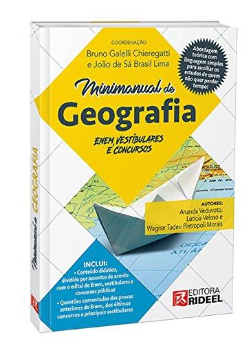 Livro: Minimanual de Geografia. Enem, Vestibulares e Concursos 1