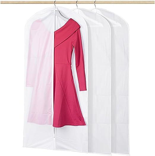 3 Pack Ropa no TEJIDO TRANSPIRABLE CUBRE traje ropa a prueba de polvo almacenamiento Pro