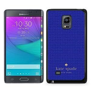 DIY Hot Sale Samsung Galaxy Note Edge Case,Kate Spade 38 Black New Design Samsung Galaxy Note Edge Phone Case