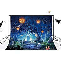 LB 20X10ft Vinyl Halloween Party Photography Backdrop Customized Photo Background Studio Prop WSJ324