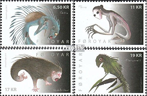 Denmark - Faroe Islands 749-752 (Complete.Issue.) 2012 Say (Stamps for Collectors)