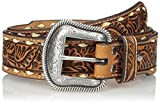 Nocona Men's Tan Tope Buck Belt, Brown, 36